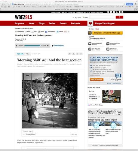 Chicago Teacher's Strike