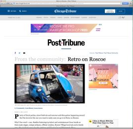 Post-Tribune: Retro on Roscoe