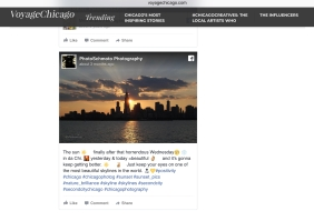 """Featured in """"An Artistic Voyage""""."""